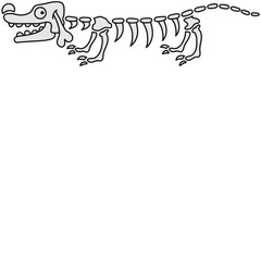 Doxie Skeleton