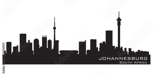 Johannesburg south africa skyline detailed vector silhouette stock johannesburg south africa skyline detailed vector silhouette thecheapjerseys Images