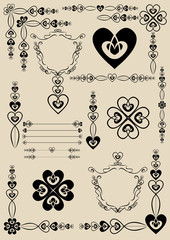 calligraphic elements and page decoration1.