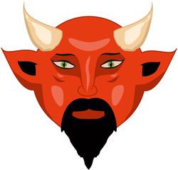 Red bald devil