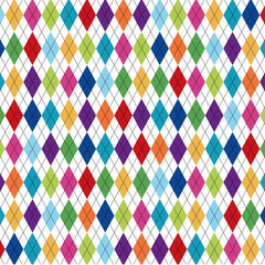 Seamless pattern with dotted lines