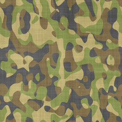 Seamless computer generated camouflage pattern