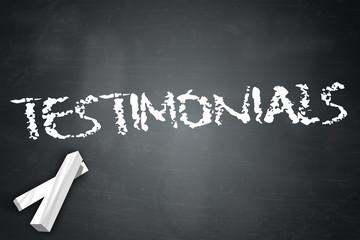 "Blackboard ""Testimonials"""