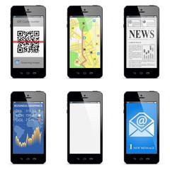 Vector smartphone concept