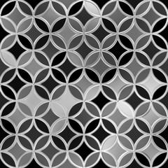 Metallic tiles. Seamless background.