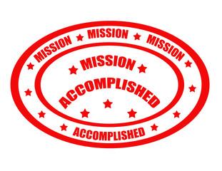 Mission Accomplished-stamp