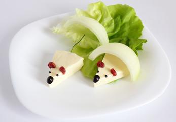 mouse appetizer