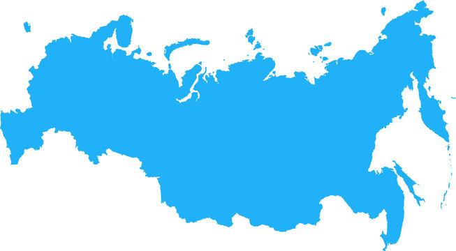 Russian Federation Map