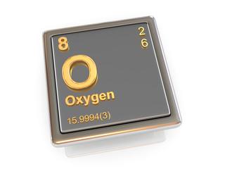 Oxygen. Chemical element.