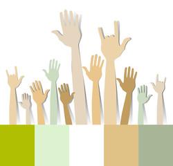 Hand group