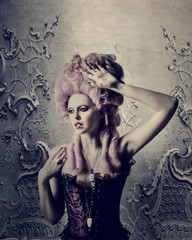 Barock Rokoko Fashion Beauty
