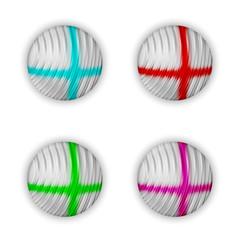 vector abstract ball