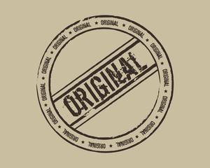 Grunge stamp original