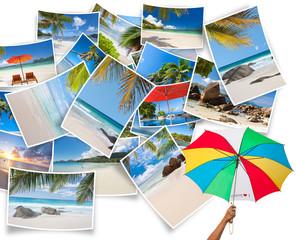 photos souvenirs de vacances aux Seychelles