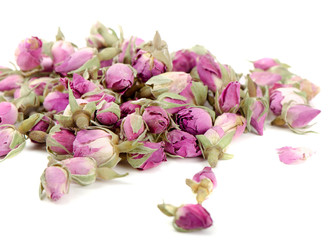 Tea of dried roses