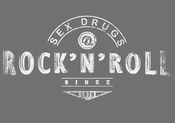 Sex drugs rock'n roll
