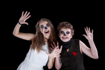 groom and  bride -  zombie