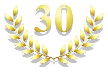 Lauriers en or 30