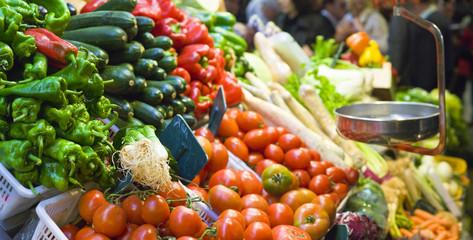 Food market, Barcelona