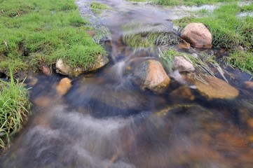 Flowing Water Stream