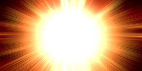 Sun explotion