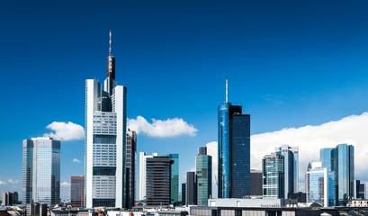 Frankfurt Summer Skyline
