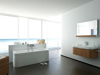 helles modernes badezimmer