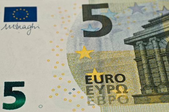 Nouveau billet de 5 euros