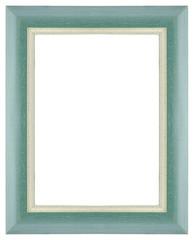 Green wooden frame