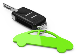 Der Autoschlüssel