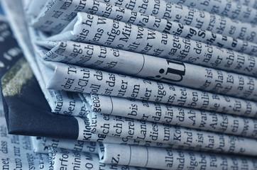 Fotobehang Kranten zeitungen