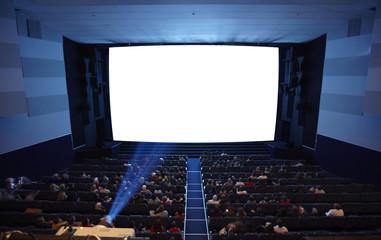 Cinema auditorium.