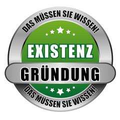 5 Star Button grün EXISTENZGRÜNDUNG DMSW DMSW