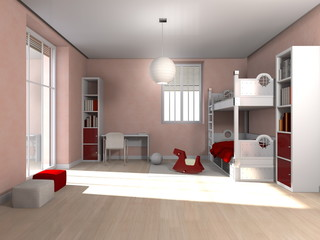 room interior - Kinderzimmer
