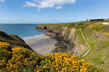 Pembrokeshire Caerfai Bay West Wales UK