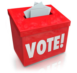 Vote Word Ballot Box Election Democracy