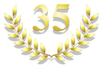 Lauriers en or 35