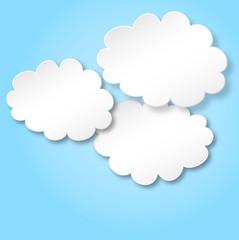 Wolken als Hintergrund