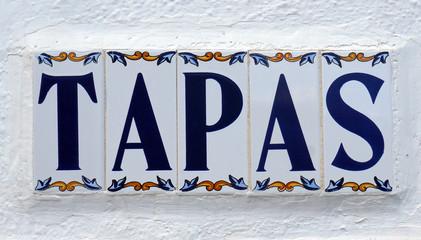 Tapas, spécialités espagnoles