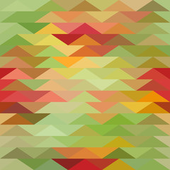 Printed roller blinds ZigZag Triangle background