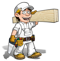 Color it Yourself -- Handyman - Carpenter
