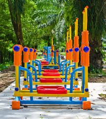 Exercise equipment.