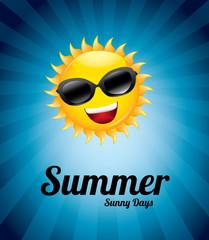 summer sunny day