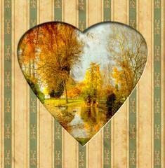 Vintage Heart - Herbst