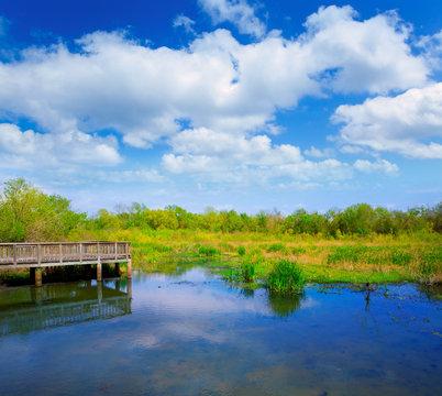 White Lake at Cullinan Park in sugarland Texas