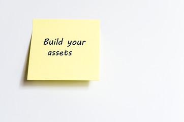 Build Your Assets