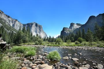 Photo sur Aluminium Parc Naturel California - Yosemite National Park
