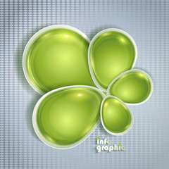 Abstract design for inforgraphics