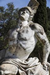 Statue des Achill auf Korfu, Griechenland
