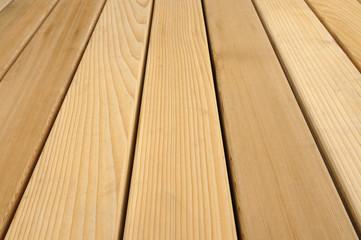 Closeup of New Cedar Wood